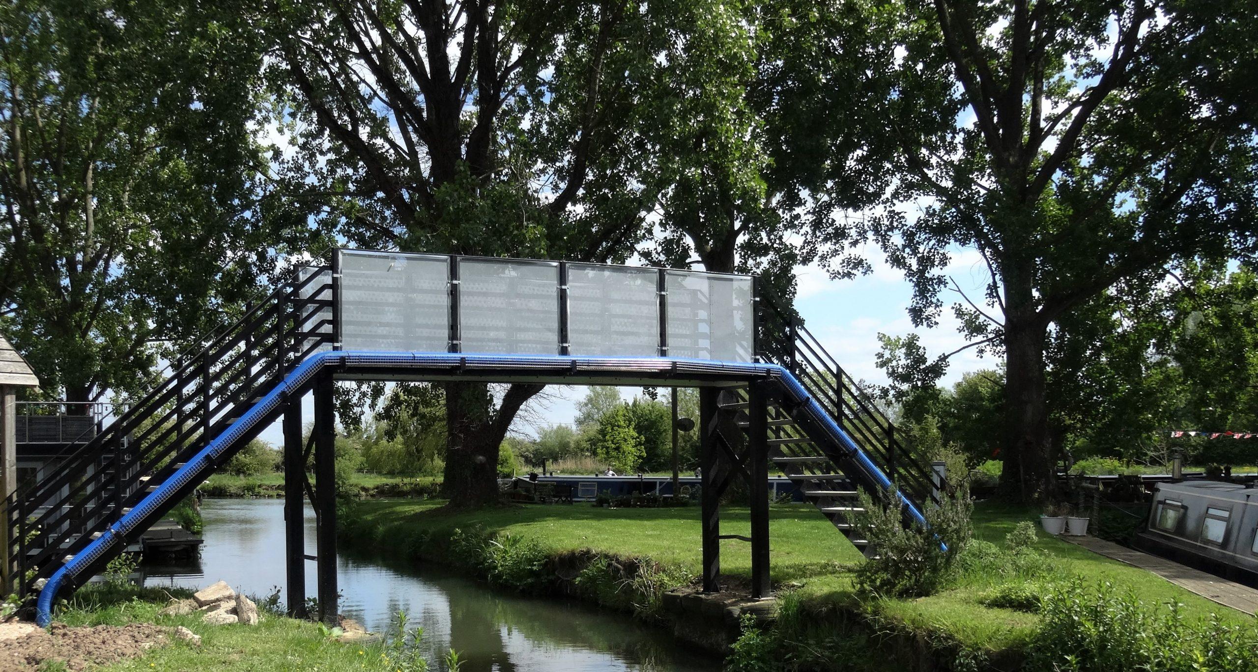 Refurbished bridge